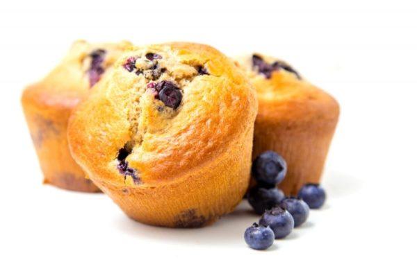 Muffin Myrtille Sans Gluten